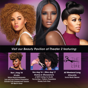 Design Essentials at Bronner Brothers for 25 Year Anniversary